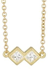 Tate Women's Harlequin Necklace Gold
