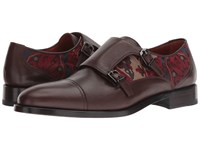 Etro Carpet Print Monk Brown Shoes