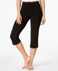 Ideology Cropped Yoga Pants Classic Black