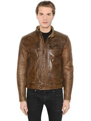 Matchless London Dandy Shearling Leather Jacket