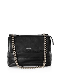 Karen Millen Chain Link Shoulder Bag Black