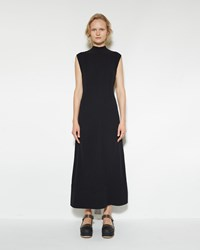 Marni Open Back Dress Black