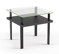 Bdi Terrace End Table Black