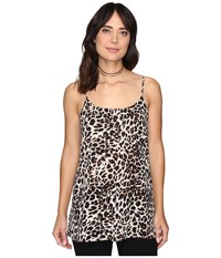 Show Me Your Mumu Estella Top Slip Cha Cha Cheetah Women's Clothing Animal Print