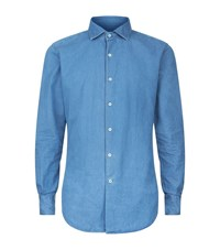 Slowear Denim Shirt Male Blue