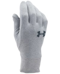 Under Armour Men's Liner Gloves Stealth Gray Stealth Gray Black