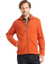 G.H. Bass And Co. Full Zip Fleece Jacket Rooibos Tea