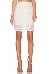 The Allflower Holiday Lace Skirt Cream