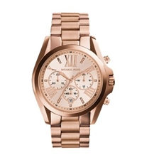 Michael Kors Oversized Bradshaw Rose Gold Tone Watch