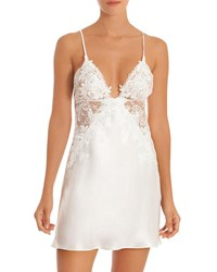 Jonquil Sutton Lace Inset Chemise Ivory
