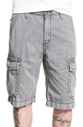 Men's True Religion Brand Jeans 'Isaac' Cargo Shorts Cwr Charcoal