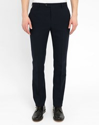 Melindagloss Navy Classic Straight Trousers