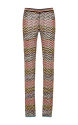 Missoni Zig Zag Lame Leggings Multi