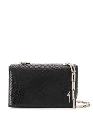 Giuseppe Zanotti Christen Crossbody Bag Black