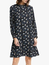 John Lewis Collection Weekend By Alexandra Floral Smock Dress Black Multi