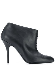 Stella Mccartney Stitched 100Mm Ankle Boots Black