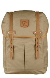 Fjall Raven Men's Fjallraven 'No. 21' Rucksack Brown Sand