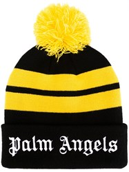 Palm Angels Pompom Beanie Black