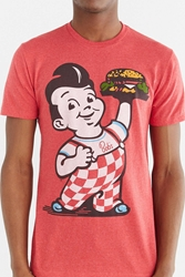 Urban Outfitters Bob's Big Boy Burger Tee Red
