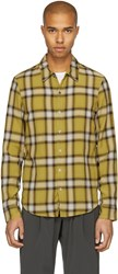 Attachment Yellow Check Shirt