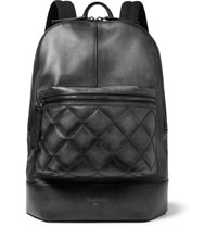 Berluti Volume Mm Quilted Leather Backpack Black
