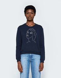 Paloma Wool Guiri Sweatshirt In Navy