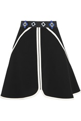 Peter Pilotto Dice Embellished Stretch Crepe Mini Skirt