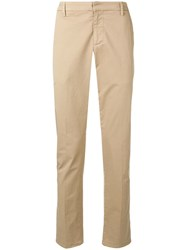 Dondup Slim Fit Chinos Brown