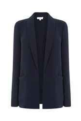 Warehouse Relaxed Fit Jacket Navy