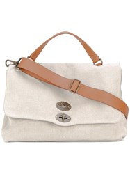 Zanellato Medium Shoulder Bag Nude Neutrals