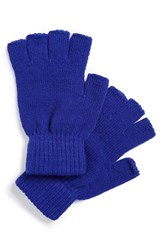 Men's The Rail Fingerless Gloves Blue 2 For 16 Cobalt Blue