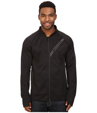 686 Glcr Rouge Zip Tech Fleece Black Men's Fleece