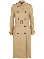 Jaeger Classic Trench Coat Stone