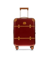 Bric's Bellagio V2.0 21 Red Carry On Spinner Trunk