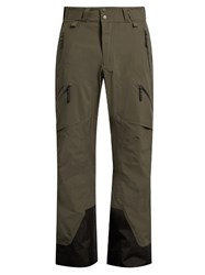 Peak Performance Heli Gravity Contrast Panel Ski Trousers Black Multi
