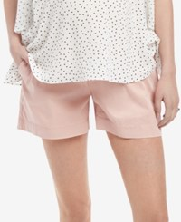Motherhood Maternity Under Belly Shorts Ashen Rose