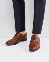 Aldo Lauriano Derby Leather Shoes In Tan