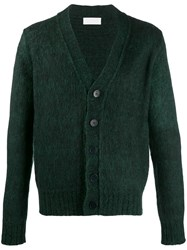 Haikure Kirk Knitted Cardigan Green