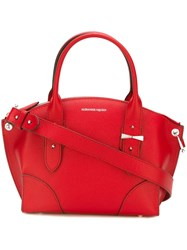 Alexander Mcqueen Small 'Legend' Tote Red
