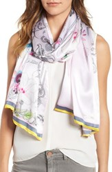 Ted Baker Women's London Passion Flower Silk Scarf