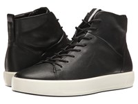 Ecco Soft 8 High Top Black Men's Lace Up Casual Shoes