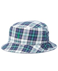 Polo Ralph Lauren Men's Big And Tall Cotton Reversible Bucket Hat Newport Navy White