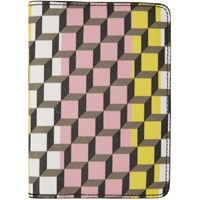 Pierre Hardy Multicolor Cube Passport Holder