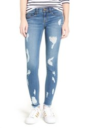 Sp Black Low Rise Skinny Jeans Blue