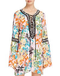 Nanette Lepore Copa Cabana Tunic Swim Cover Up Multi