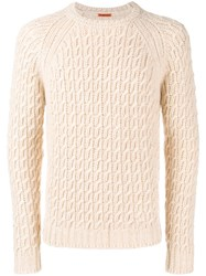 Barena Knitted Jumper Nude And Neutrals