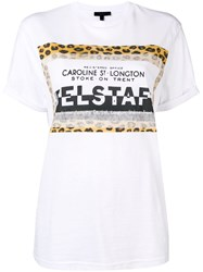 Belstaff Patched Logo T Shirt White