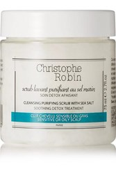 Christophe Robin Cleansing Purifying Scrub Colorless
