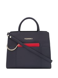 Tommy Hilfiger Faux Leather Tote Bag 60