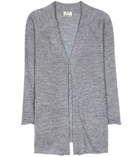 Acne Studios Joya Alpaca And Wool Cardigan Grey